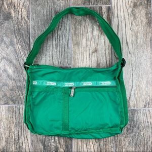 Vintage LeSportsac Kelly Green Bag